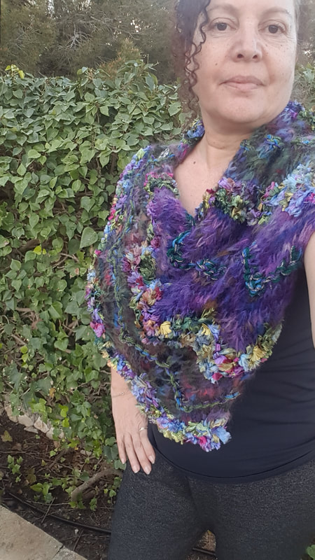 handmade, unique, original knitting and crochet by Art Knits by Amal